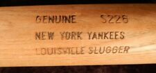 """NEW YORK YANKEES uncracked Game Used Team Bat """"GREAT FOR AUTOGRAPHS"""""""