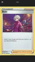 2x Pokemon TCG Sword and Shield Bede 157/236 Uncommon Card NM Trainer Supporter