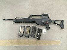Airsoft WE G36 /G39-E Gas Blowback Rifle GBBR w/ Scope + 4 Mags