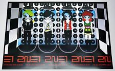 2NE1 - 2nd Mini Album OFFICIAL POSTER (with Tube Case)