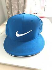 Nike True Tour Statement Flex Fit Golf Cap Golf Hat S/M - BLUE