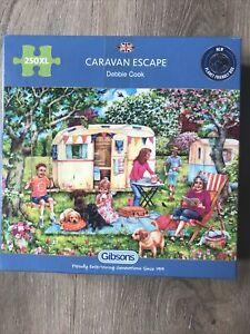 Gibsons 'Caravan Escape' - 250 XL Piece Jigsaw Puzzles