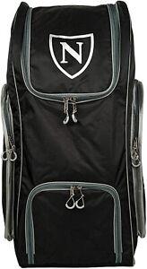 2021 Newbery N Series Black Silver Big Duffle Cricket Bag Size 90 x 39 x 39cm