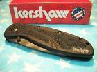 KERSHAW usa TIGER STRIPE Blur BDZ-1 Plain-Edge Tanto spring assist knife 1670TTS