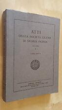 ATTI DELLA SOCIETà LIGURE DI STORIA PATRIA Nuova serie V/II 1965 Puncuh Grendi