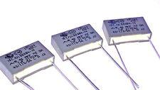 3 x 100nf 275Vac X2 Class Capacitors For Revox B750 MK I Amplifier Replacement