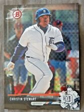 Christin Stewart 2017 Bowman Black Card #1/1 Detroit Tigers