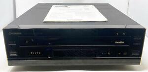 1992 Pioneer Elite CLD-95 CD CDV LD Laserdisc Player + Manual No Woodsides