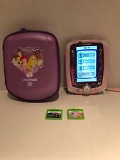 Leapfrog Leappad 2 Learning Tablet Disney Princess Edition Case Games