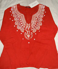 Summer Top Blouse for Women/ Girls~Trendy Design~Flared Sleeves~M~ NWT*