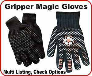 Foot Ball Grippèr, Black Grippèr, Black Magic Gloves Unisex one size Wholesale
