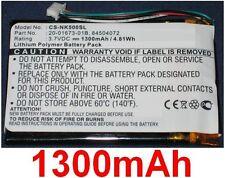 Batterie 1300mAh type 20-01673-01B 84504072 Pour Nokia 500