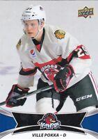 VILLE POKKA 2016-17 16-17 UPPER DECK AHL BASE #61 ROCKFORD ICE HOGS