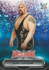 The Big Show WWE Road To Wrestlemania 2016 Trading Card 19 Of 30