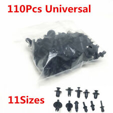 110pcs 11Sizes Car Push Retainer Pin Rivet Trim Clip Panel Moulding Assortments