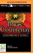 Solomon's Song by Bryce Courtenay (2014, MP3 CD, Unabridged)