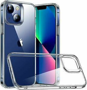 Clear Case For iPhone 12 Pro X XS 7 8 SE 2020 Shockproof Gel Soft Silicone Cover
