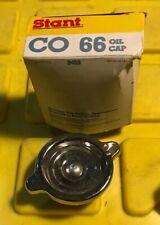 Stant CO-66 Chrome Oil filler Cap S Logo Chevrolet Corvette  Camaro Chevelle