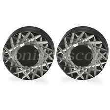 Stainless Steel Geometric Pattern No-pierced Clip On Magnetic Ear Studs Earrings