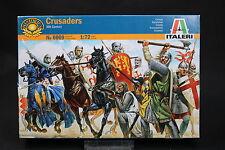XU113 ITALERI 1/72 figurine 6009 Crusaders XI th century Croisés Crociati