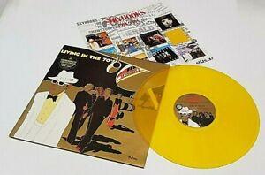 "Skyhooks ""Living In The 70s"" 1984 Oz Press Ltd. Edition Mint Unplayed Gold LP"
