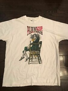 Alice In Chains Shirt Vintage tshirt 1990s Angry NEW GILDAN