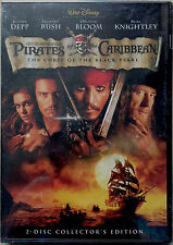 Pirates of the Caribbean:The Curse of the Black Pearl  2-Disc DVD, 2003, SEALED!