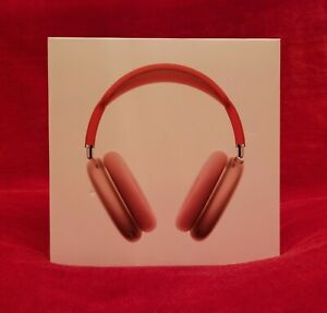 Casque Apple Airpods Pro Max pink avec protection Rouge Iphone