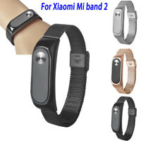 Stainless Steel Smart Wrist Watch StrapMilanese Bracelet For Xiaomi Miband 2 Hot