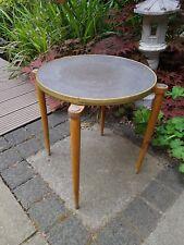 50er Hocker Blumenhocker Beistelltisch mid century 50s stool