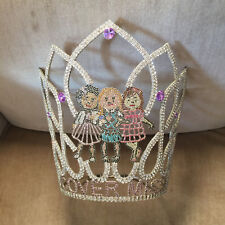 Vintage Child Beauty Pageant Crown Tiara Cover Miss