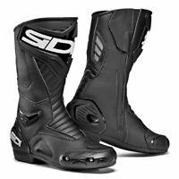 Sidi Performer Air CE Moto Motorcycle Bike Boots Black / Black