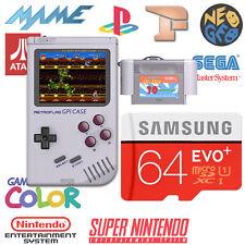 Micro sd GPI case 64GO / 18 consoles / +9000 jeux