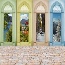 Four Seasons Picture Wall Photography Background 10x10ft Studio Backdrop Prop