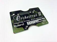 Roland SR-JV80-16 Orchestral II Expansion Board JV1080 JV2080 XV5080