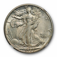 1920 S Walking Liberty Half Dollar 50C NGC AU 55 About Uncirculated Cert#0006