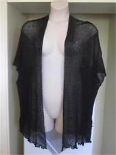NEW..Stylish Plus Size Black Lightweight Kimino Cardi Cover Up One Size 16-24