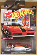 HOT WHEELS 2016 GARAGE 80'S PONTIAC FIREBIRD ERROR W+