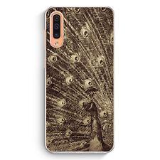 Vintage Peacock Pfau Samsung Galaxy A50 Hülle Motiv Design Tiere Schön Cover ...