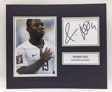 RARE Freddy Adu USA Signed Photo Display + COA AUTOGRAPH USMNT AMERICA