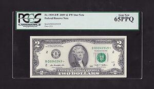 2009 $2 FRN, NEW YORK STAR NOTE, FR# 1939-B*, FORT WORTH, PCGS GEM NEW 65 PPQ