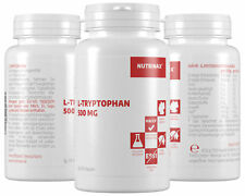 Nutrinax Tryptophan - 120 Kapseln L-Tryptophan hochdosiert L-Tryptophan Pulver