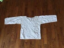 Ukrainian White Hand Embroidered Women's Shirt Blouse Vyshyvanka Ukraine Sz S