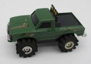 Vtg Schaper Stomper Green Toyota SR5 Truck 4x4 Toy READ
