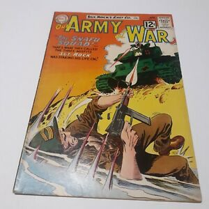 OUR ARMY AT WAR #117 APRIL. 1962 FN+