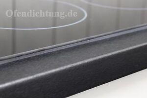 Dichtband für Kochfeld zum Abdichten Ceran Glaskeramik Induktionsfeld 3m Band