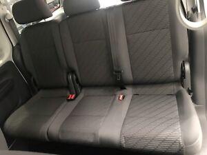 VW Caddy triple seat