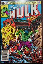 Incredible Hulk #274 Home the Hard Way 1982 Nm