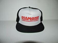 Vintage Diamond Lumber Building Materials Mesh Trucker Hat Cap Adjustable