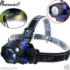2000LM CREE XM-L XML T6 LED 3W AAA Headlamp Headlight Head Light Lamp Torch  UK